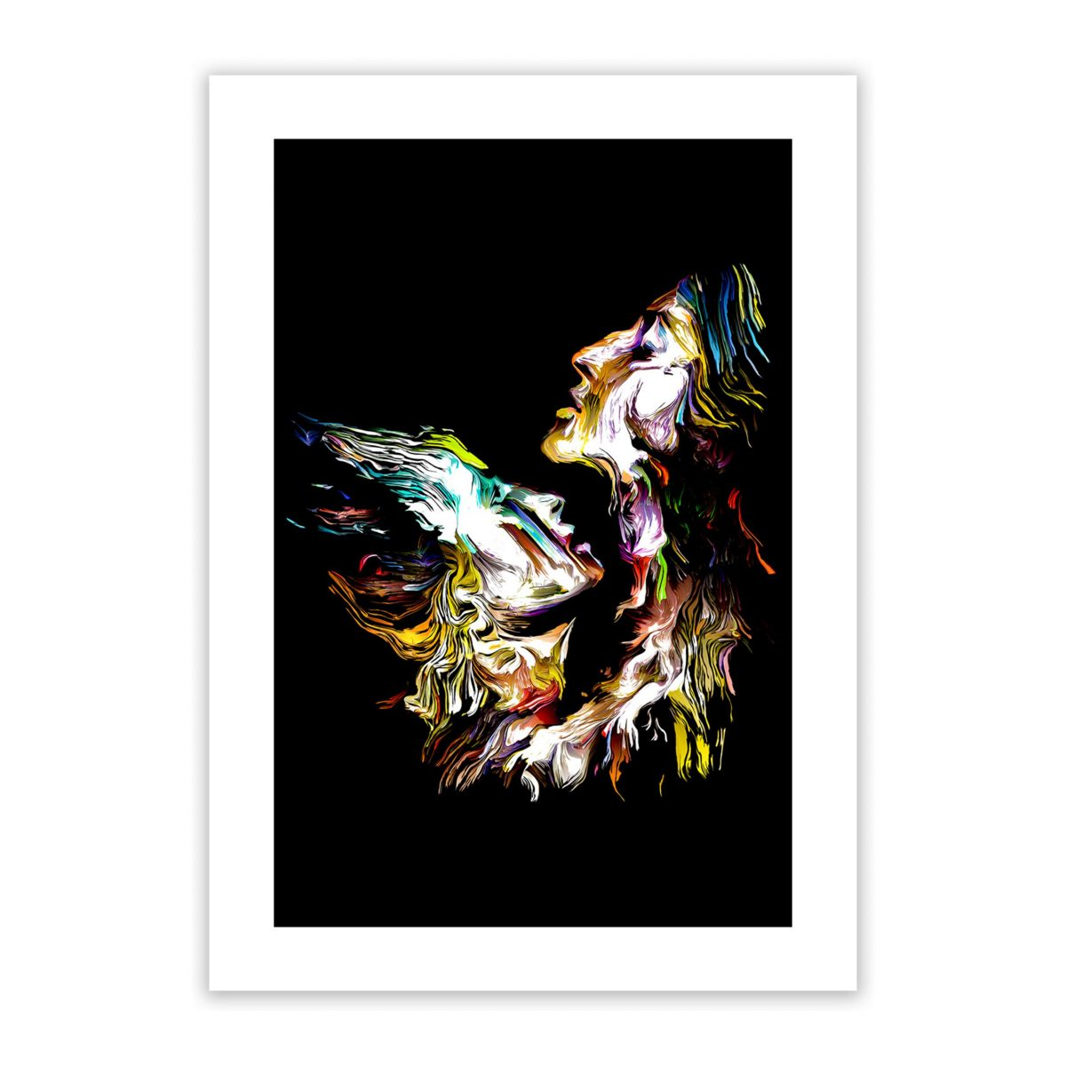 amoureux nude erotic wall art prints posters 1