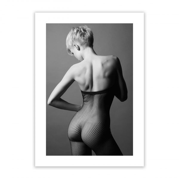caught in a net nude erotic wall art prints posters 1