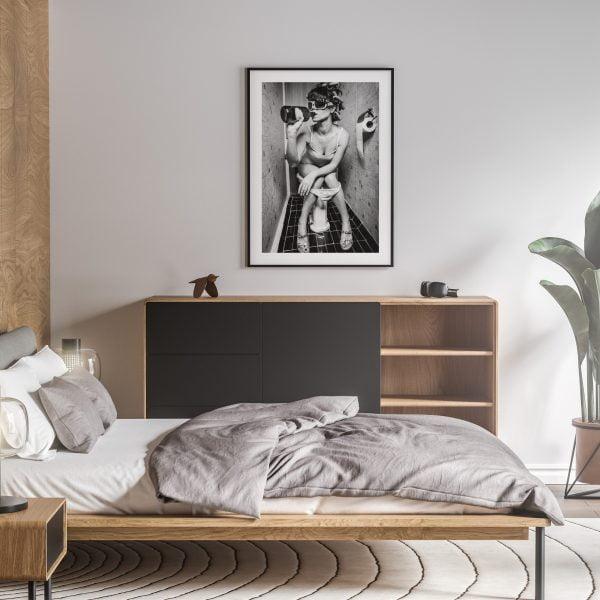 fuck it nude erotic wall art prints posters vertical 1
