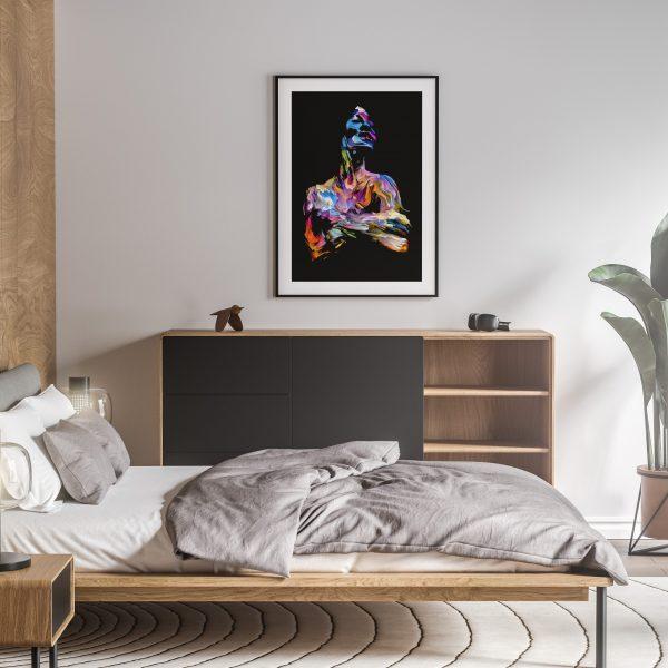 ijoba nude erotic wall art prints posters vertical 1