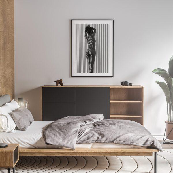 lina nude erotic wall art prints posters vertical 1
