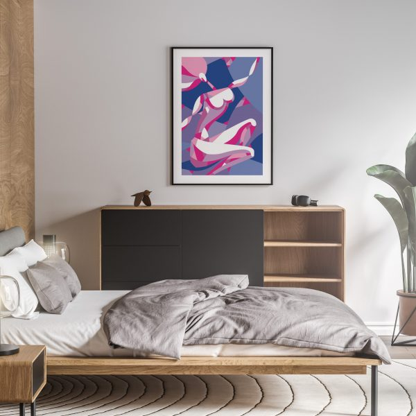 rosado nude erotic wall art prints posters vertical 1