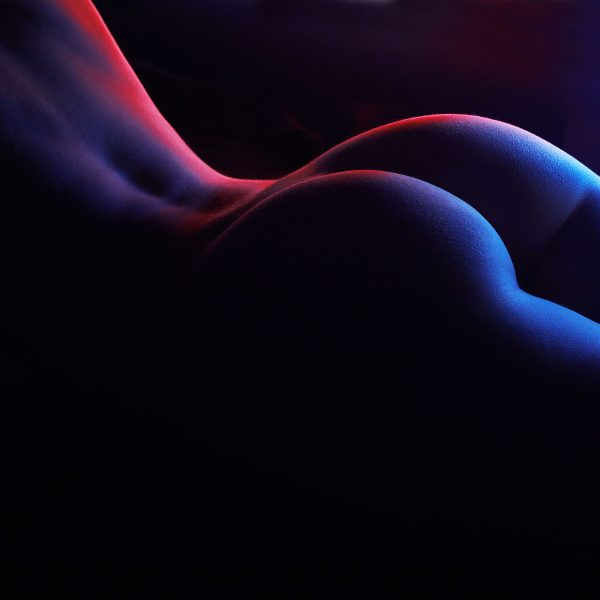 a touch of blue nude erotic wall art prints 1