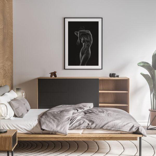 breathe nude erotic wall art prints posters vertical 1