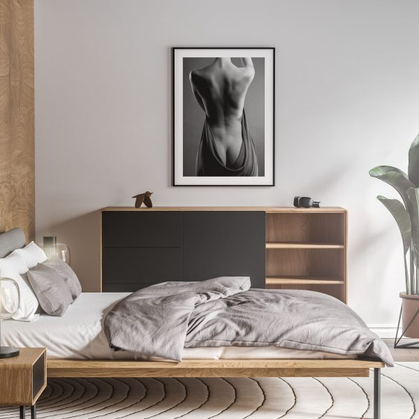 from the back nude erotic wall art prints posters vertical 1