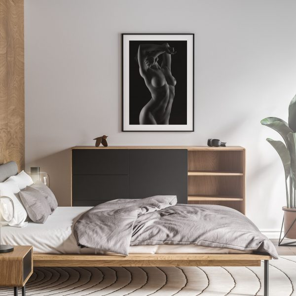 glisten nude erotic wall art prints posters vertical 1