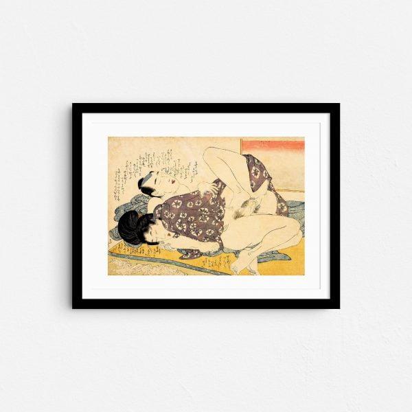 good-morning-shunga-japanese-erotica-prints-frame