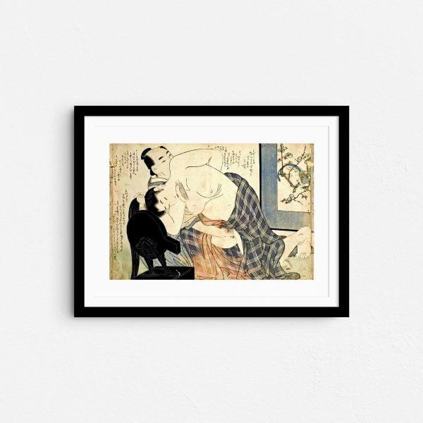 hair-like-silk-shunga-japanese-erotica-art-prints