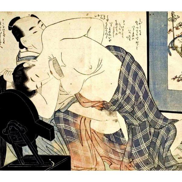 hair-like-silk-shunga-japanese-erotica-prints-a4