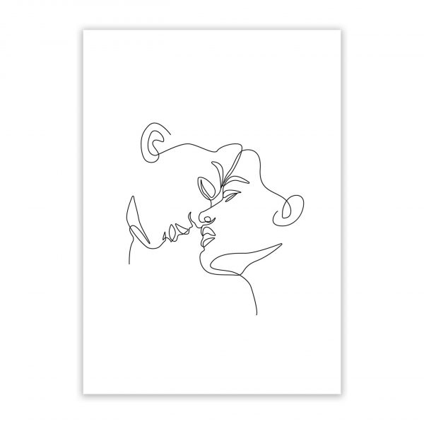 his embrace nude erotic wall art prints posters