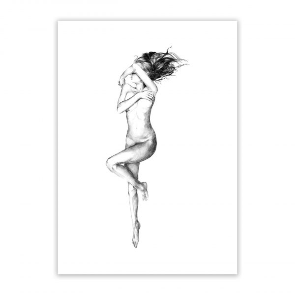modest nude erotic wall art prints posters