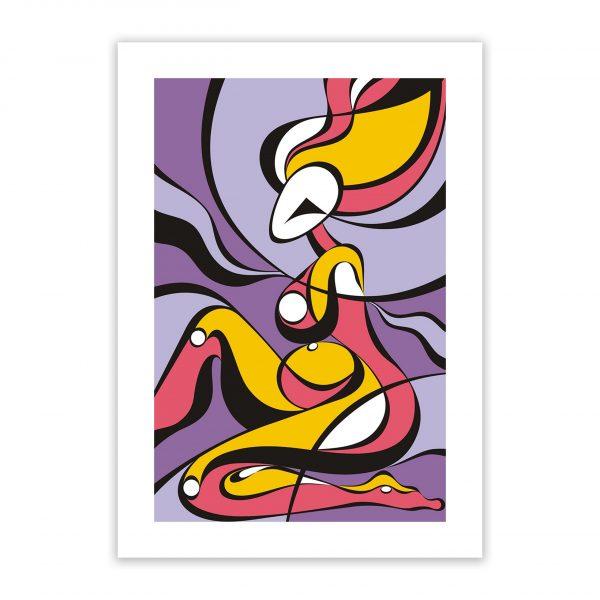 morada nude erotic wall art prints posters