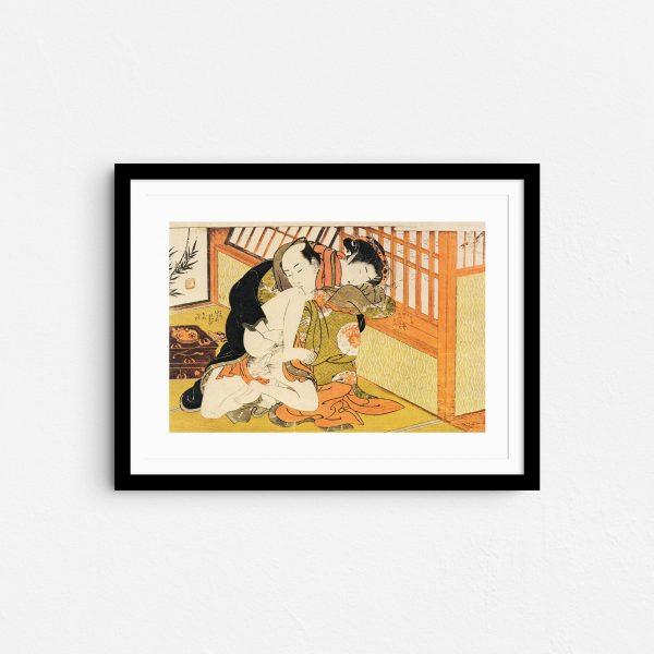 season-of-elevation-shunga-japanese-erotica-art-prints-frame