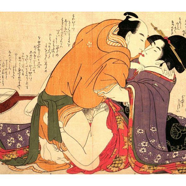 serenade-embrace-shunga-japanese-erotica-art-prints-a4