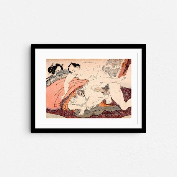 sheets-of-submission-shunga-japanese-erotica-art-prints-frame