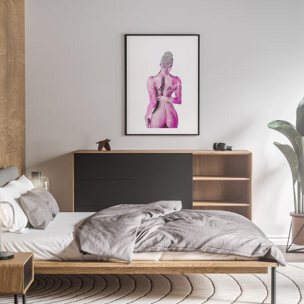 tafakari nude erotic wall art prints posters vertical 1