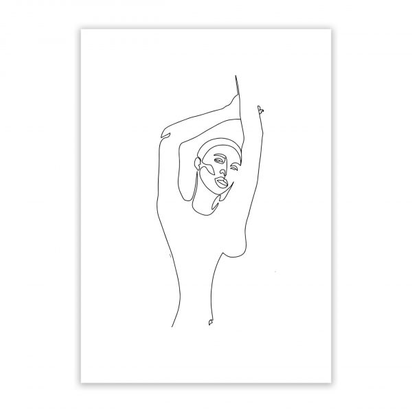the queen nude erotic wall art prints posters