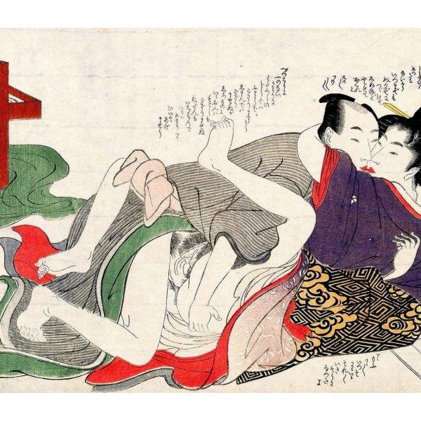 the-summer-heat-shunga-japanese-erotica-prints-a4