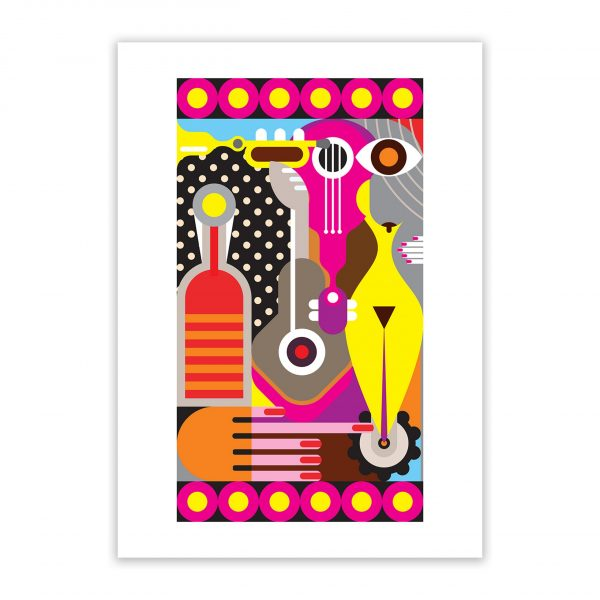 triangle nude erotic wall art prints posters