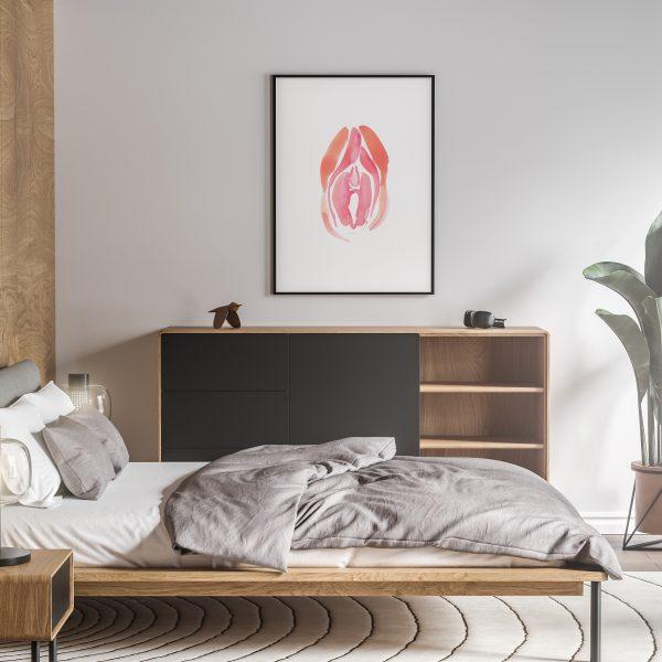vida nude erotic wall art prints posters vertical 1
